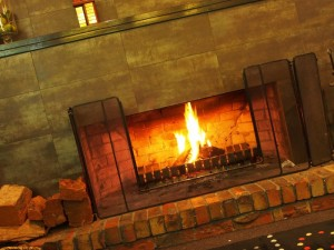 Merrijig accommodation at Mt Buller - Fireplace
