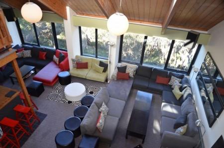 Merrijig accommodation at Mt Buller - lounge