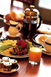 Merrijig fine food and accommodation -  breakfast