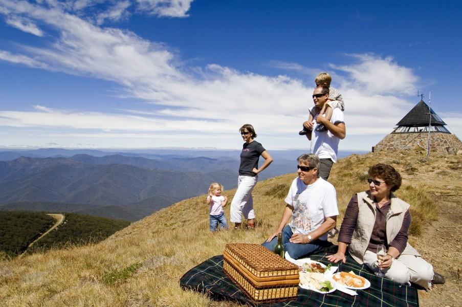 Summer Mt Buller Accommodation Merrijig Lodge Mount